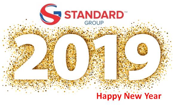 Standard happy new year 2019